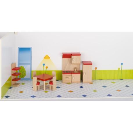 Holz Puppenmöbel/Küche für Kinder ab 3 Jahre