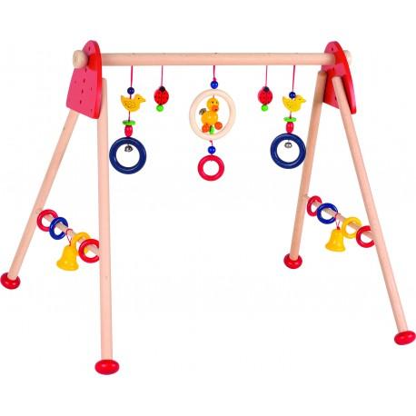 Holz Greif- und Spieltrainer für Kinder ab 0 Jahre
