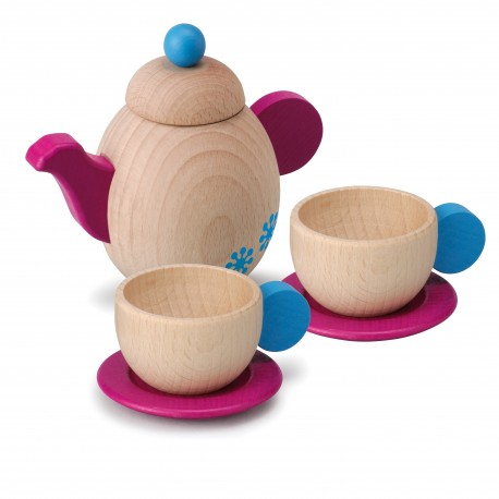 Holz Teeservice für Kinder ab 1 Jahr