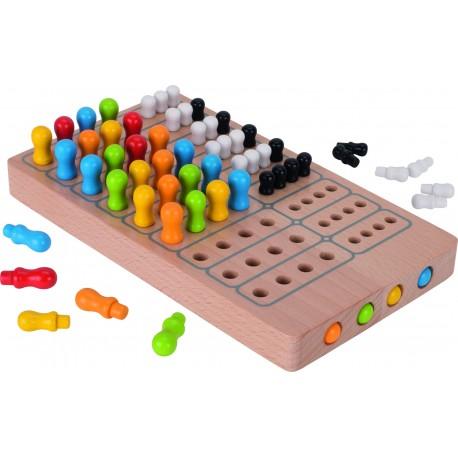 Holz Brettspiel Master Logic für Kinder ab 7 Jahre