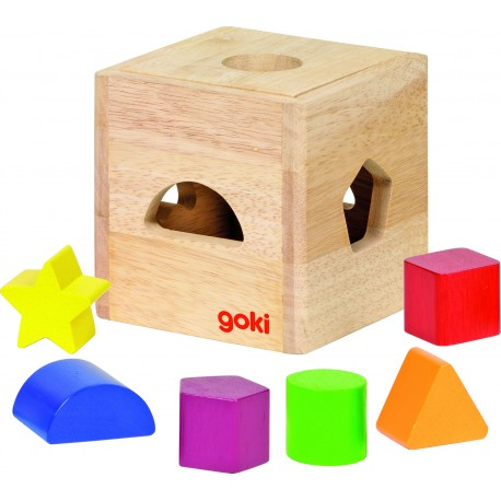 Holz Würfelmosaik für Kinder ab 1 Jahr