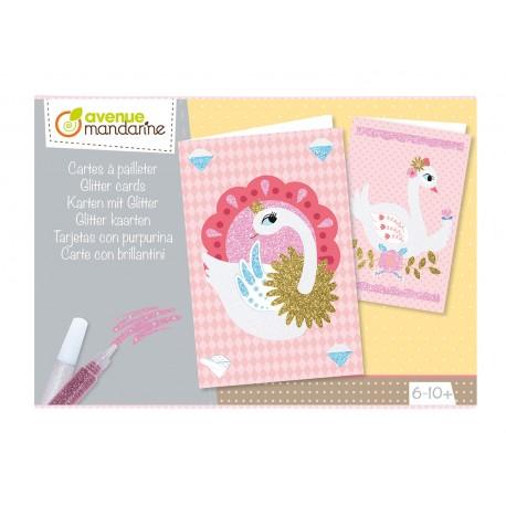 Kreativbox Glitterkarten für Kinder von 8 - 12 Jahren