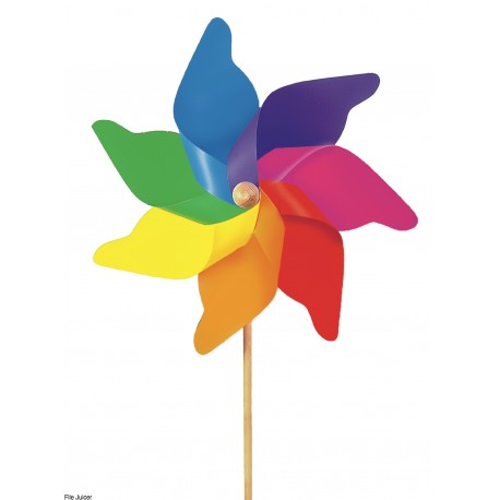 Windrad Regenbogen, Jumbo für Kinder ab 3 Jahre
