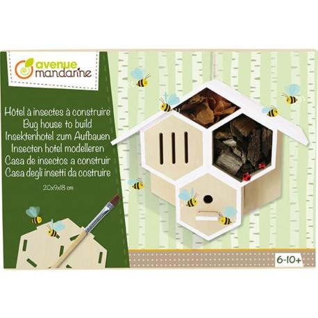 Insektenhotel zum Aufbauen für Kinder von 6-10 Jahren