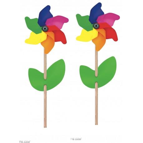 Windrad Regenbogen, klein für Kinder ab 1,5 Jahre