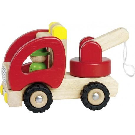 Holz Abschleppwagen für Kinder ab 2 Jahre