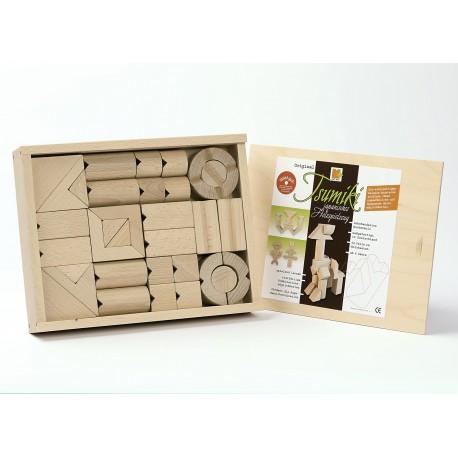 Holz Baukasten Tsumiki für Kinder ab 4 Jahren