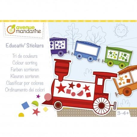 Kreativset Sticker für Kinder von 3 bis 4  Jahren