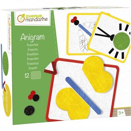 """Anigram """"Insekten"""" für Kinder ab 3  Jahre"""