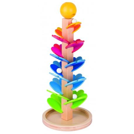 Holz Murmelspiel Klangpagode für Kinder ab 3 Jahre