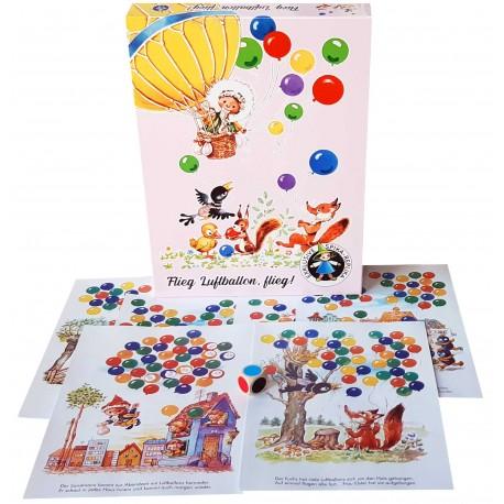 """Würfelspiel """"Flieg Luftballon, flieg"""" für Kinder ab 4 Jahre"""