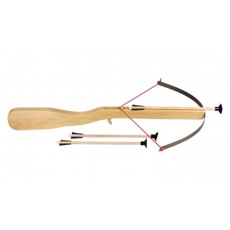 Holz Kinderarmbrust mit 3 Pfeilen für Kinder ab 5  Jahre