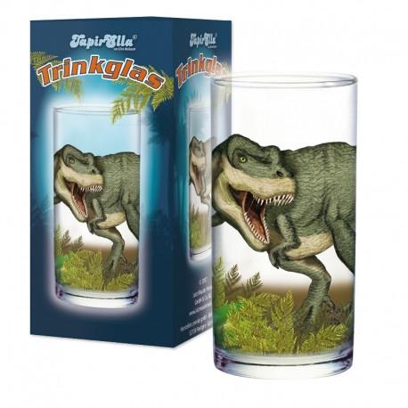 Trinkglas T-Rex für Kinder ab 3 Jahre