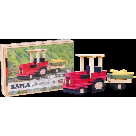 KAPLA Baukasten Traktor für Kinder ab 5  Jahre