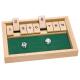 Holz Additionsspiel Shut the box - für Kinder ab 6 Jahre