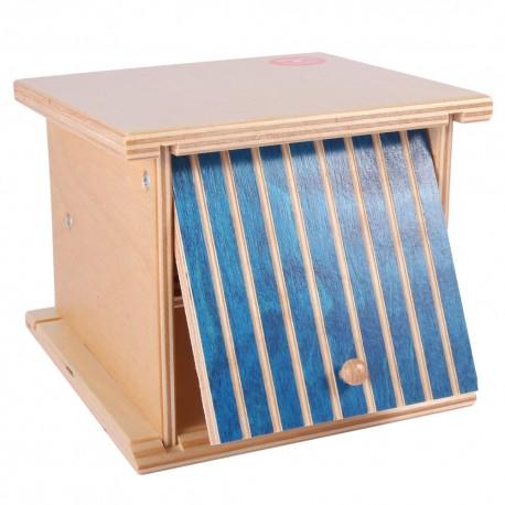 Holz Doppelgarage mit Kipptor für Kinder ab 2 Jahren