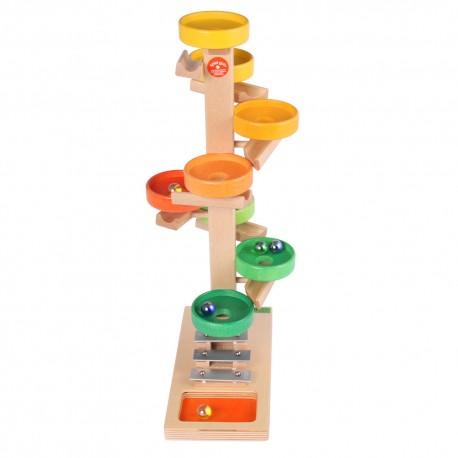 Holz Tellerturm für Kinder ab 3 Jahren