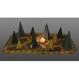 Das einfache Waldschattenspiel für Kinder ab 5 Jahre