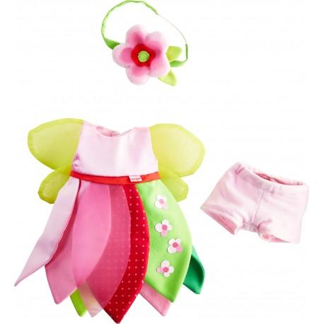 Kleiderset Blumenfee für Kinder ab 1,5  Jahren