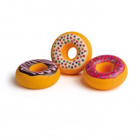 Holz Doughnuts für Kinder ab 3 Jahre
