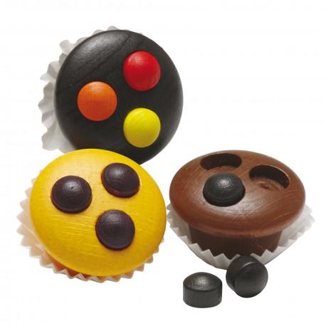 Holz Muffins für Kinder ab 3 Jahre