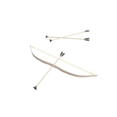 Holz Pfeil und Bogen für Kinder von 4 bis 10 Jahren