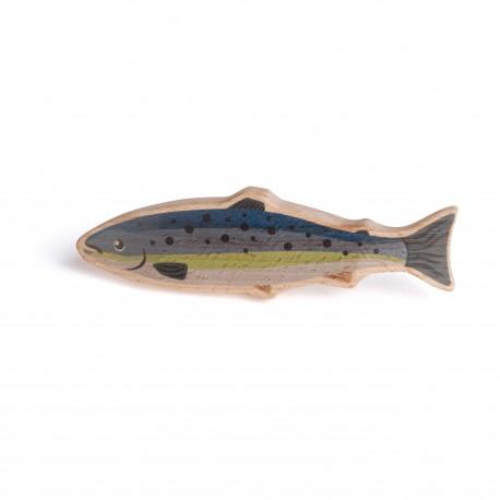 Holz Fisch für Kinder ab 3 Jahre