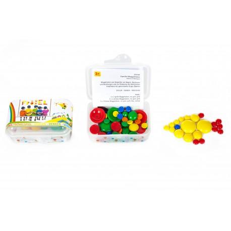 Kleines Fröbellegespiel Familie Muggelsteine für Kinder ab 3 Jahre