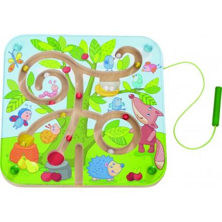 """Magnetspiel """"Baumlabyrinth"""" für Kinder ab 2  Jahre"""