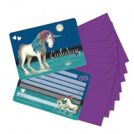 """Einladungskarten-Set """"Lunabelle"""""""