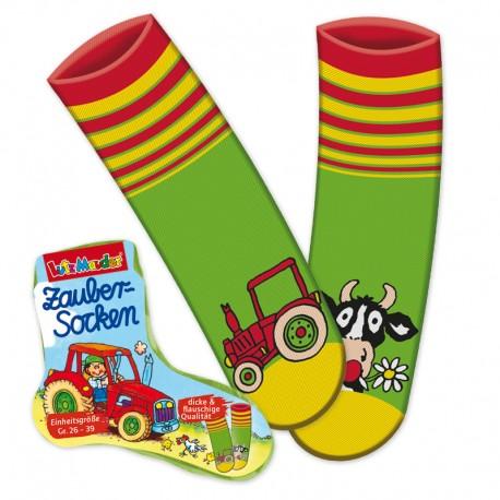 """Zaubersocken """"Bauernhof"""" für Kinder ab 3 Jahre"""