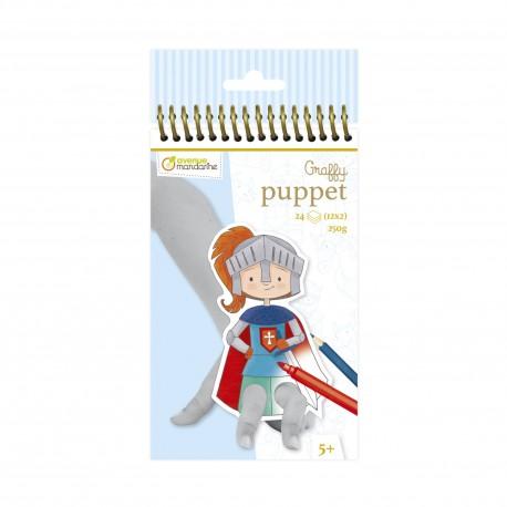 """Graffy Puppet """" Drache und Ritter"""" für Kinder ab 5 Jahre"""