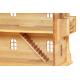 Puppenhaus, mit natürlichem Dach