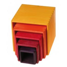Kleiner Kistensatz, gelb