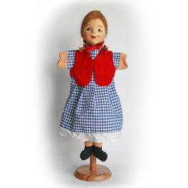 Echte Dresdner Handpuppe - Gretel