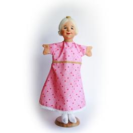 Echte Dresdner Handpuppe - Prinzessin