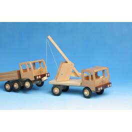 Werdauer Holz - Abschleppwagen für Kinder ab 3 Jahre