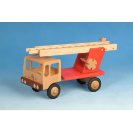 Werdauer Holz-Feuerwehr (rot) für Kinder ab 3 Jahre
