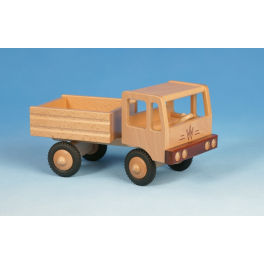 Werdauer Holz-Zugmaschine Kipper (2achsig) für Kinder ab 2 Jahre